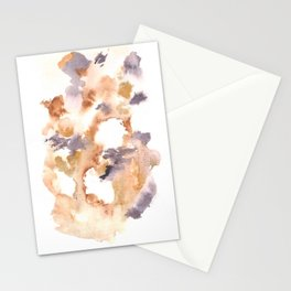 Soft Texture Watercolor | [Grief] Lightness Stationery Cards