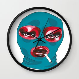 Gang Girl Wall Clock