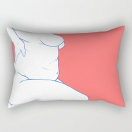 Sitting Rectangular Pillow