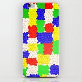 Messy Mosaic iPhone Skin