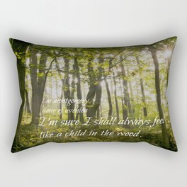 Woods L M Montgomery Anne Rectangular Pillow