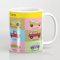 simpsons Mugs featuring Simpsons Cars by SIME Design