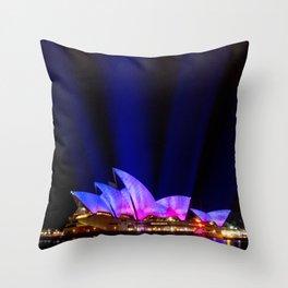 Vivid Sydney Festival Throw Pillow