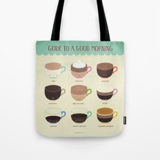 Guide to a Good Morning Tote Bag