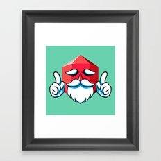 Game Master Framed Art Print
