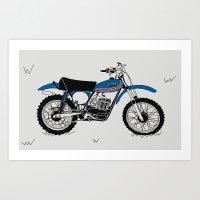 1974 Ossa Phantom 250KJ Art Print