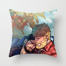 William and Theodore 31 Throw Pillow