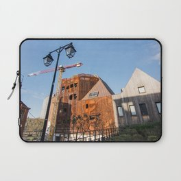 Lille architecture blue sky Laptop Sleeve