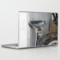 copenhagen Laptop & iPad Skins featuring Rusty bike Copenhagen by RMK Creative