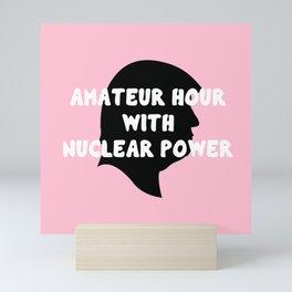 AM-A-T-EUUU-R! Mini Art Print