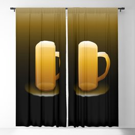 The Many Tones Of Beer. Blackout Curtain
