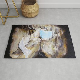 Empty Burial Tomb Rug