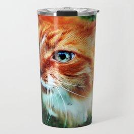 Sassy Cat Travel Mug