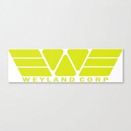 Weyland Corp - Yellow Canvas Print