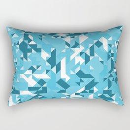 Off-Beat Geometric Shapes V.06 Rectangular Pillow