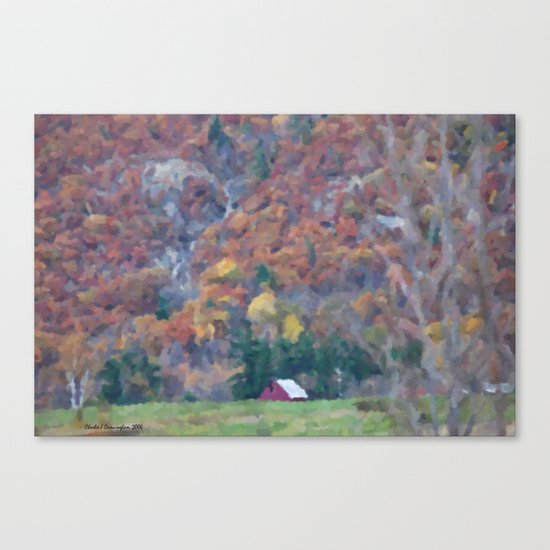 Solo House Canvas Print