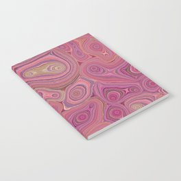 Mineralicious-Pink Agate Notebook
