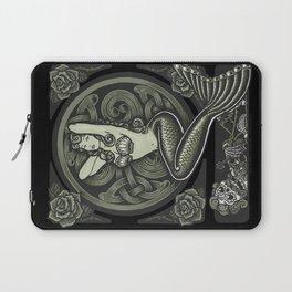 Vintage Classic Mermaid Pinup Laptop Sleeve