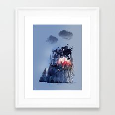 Sorrow's City Framed Art Print