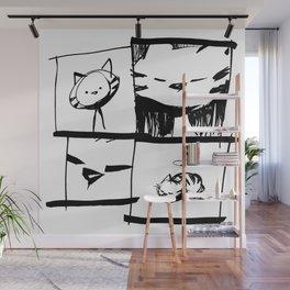 minima - IA - catnap Wall Mural