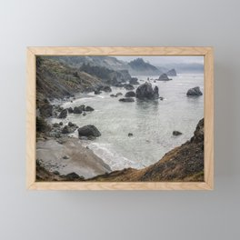 Rock Formations Around Sisters Rock State Park Framed Mini Art Print
