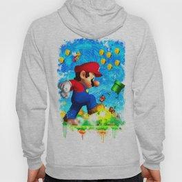 Super Mario Van Gogh style Hoody