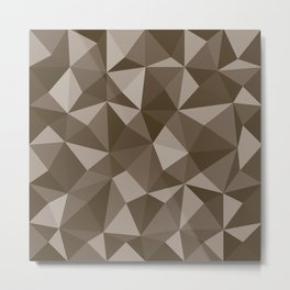 Geometric pyramids V6 Metal Print