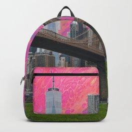 neon nyc  Backpack