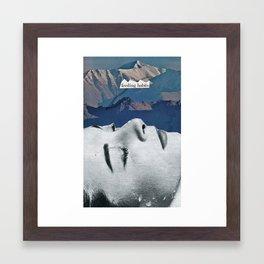 Feeding Habits Framed Art Print