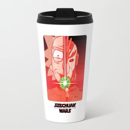 Rick & Morty - SZECHUAN WARS T-Shirt Travel Mug