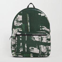 NYC Walls (zelen) Backpack