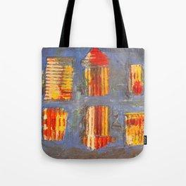 Colourful City Tote Bag
