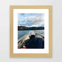 Exploring Gull Island Framed Art Print
