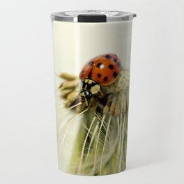 Dandelion Ladybugs Travel Mug