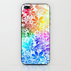 Flying Through Rainbows iPhone & iPod Skin