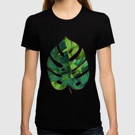 Tropical Banana Leaves Unique Pattern T-shirt