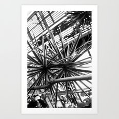 Greenhouse Lines Art Print