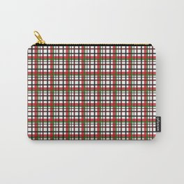 Christmas Plaid Carry-All Pouch