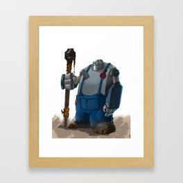 Wallace Framed Art Print