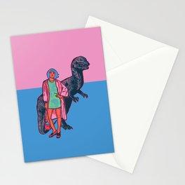 jurassic fashion #1 Stationery Cards