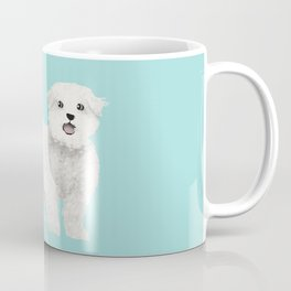 maltese farting dog cute funny dog gifts pure breed dogs Coffee Mug