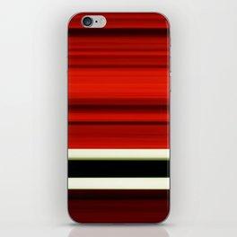 red-girl iPhone Skin