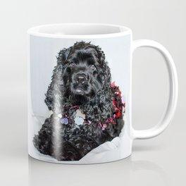 Valentine Puppy Photography Print Coffee Mug