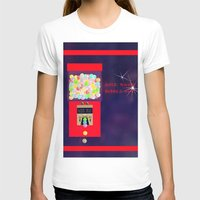 gumball T-shirts featuring Super Moon Gumball Machine by Mel Moongazer