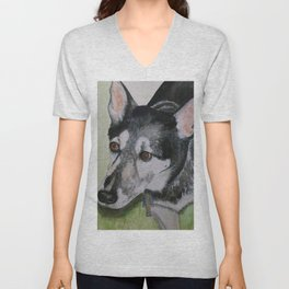 """A Tribute to """"Max"""" Unisex V-Neck"""