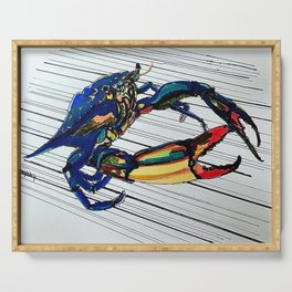 Maryland blue crab Serving Tray