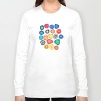 biology Long Sleeve T-shirts featuring CELLS by THE USUAL DESIGNERS