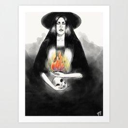 Death by Fire Art Print