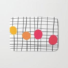 4 Dots Bath Mat