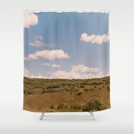Open Idaho Shower Curtain